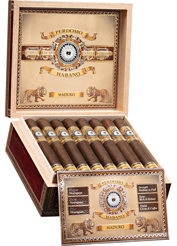 Perdomo Habano Bourbon Barrel Aged Mad